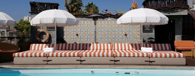 Petit Ermitage West Hollywood Boutique Hotel with private european pool
