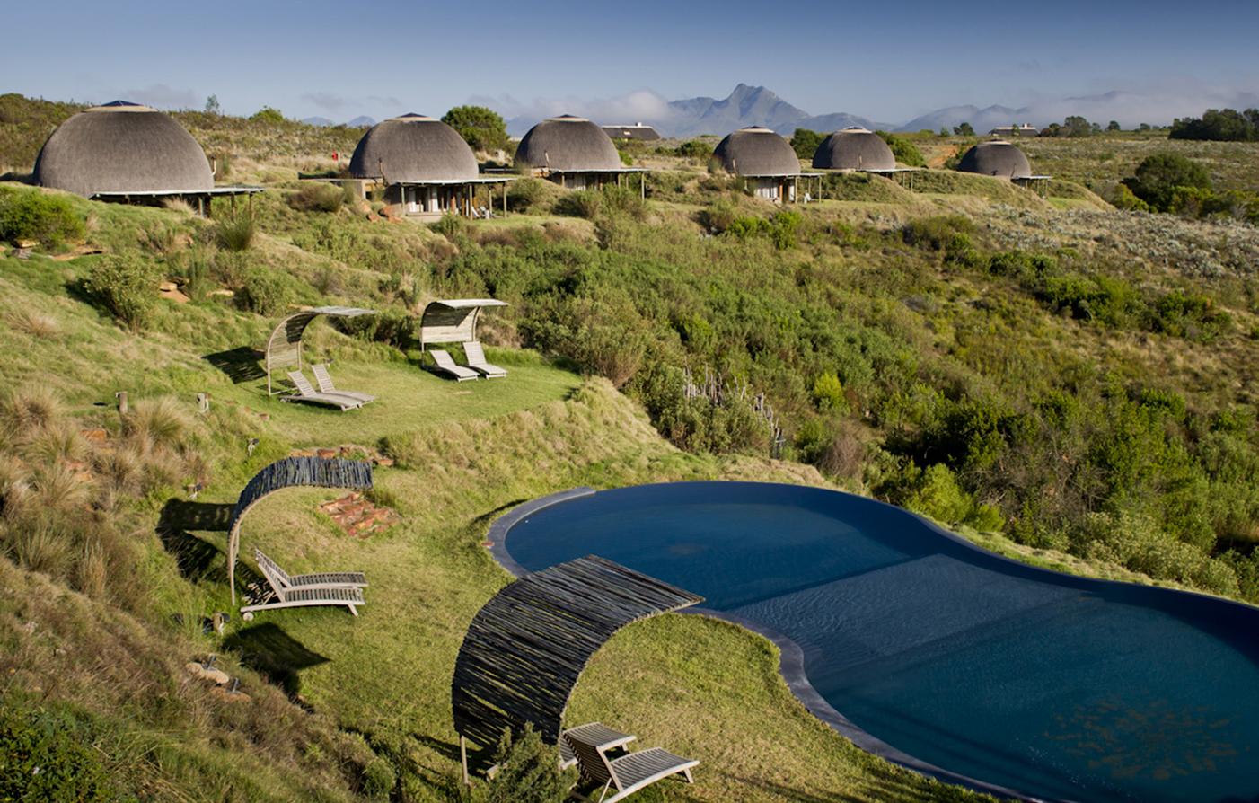 Gondwana Game Reserve - Huts & Pool