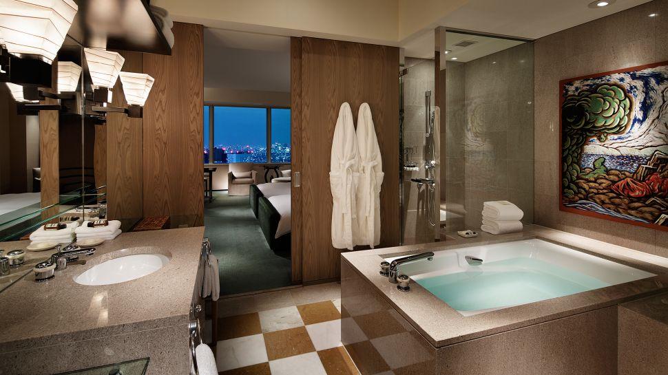 Park Hyatt Bathroom Tokyo Japan